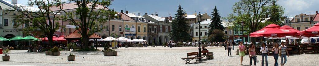 rynek w Krośnie